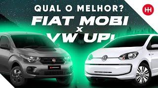 Fiat Mobi x Volkswagen up! - Comparativo Webmotors #1