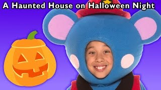 Scary Ghost Video | A Haunted House on Halloween Night and More | Baby Songs from Mother Goose Club!