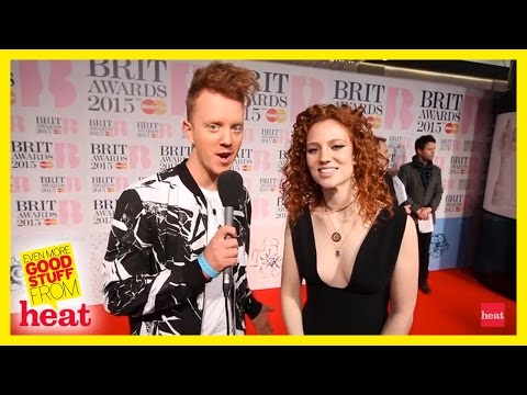 Jess Glynn hardly ever washes her hair Brits 2015