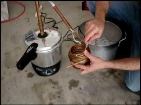Ethanol mash Distilled Easy method
