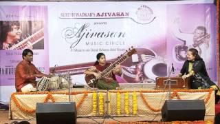 Ananya Wadkar | performing her 1st Sitar solo | AJIVASAN