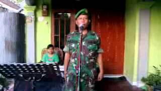 Tentara kocak mendadak dangdut