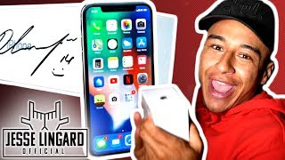 iPHONE GIVEAWAY Signed by Jesse! | Treasure Hunt in Jesse