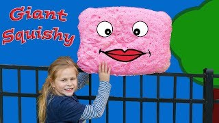 Making the Worlds Largest Squishy The Assistant Squishy Making Science Experiement