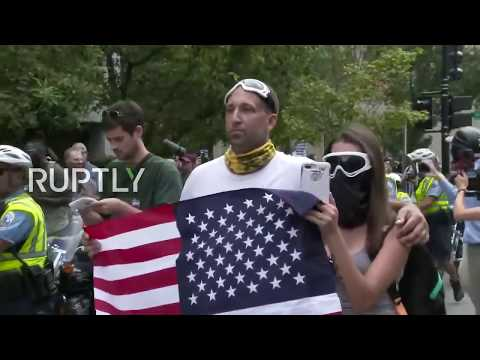 Xxx Mp4 LIVE 'Unite The Right 2' Rally And Counter Protests Hit DC One Year After Charlottesville 3gp Sex