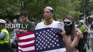 LIVE: 'Unite the Right 2' rally and counter protests hit DC one year after Charlottesville