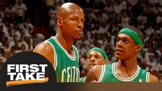 Ray Allen says Rajon Rondo told Celtics he 'carried' team to 2008 title | First Take | ESPN