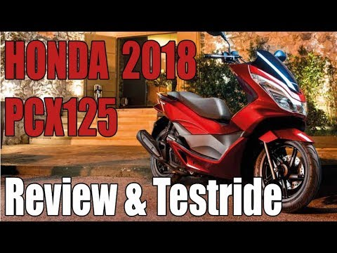 Honda PCX 125 2018 Review & Testride