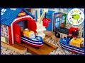 Download Video Download CAPTAIN AND THE BOAT CITY! Fun Toy Trains for Kids with Thomas and Friends 3GP MP4 FLV