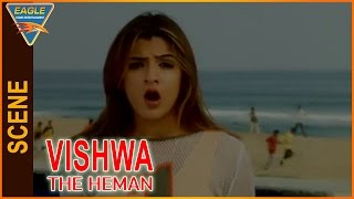 Vishwa the Heman Hindi Dubbed Movie || Aarthi Agarwal Introduction Scene || Eagle Hindi Movies