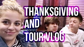 THANKSGIVING AND TOUR VLOG | Baby Ariel