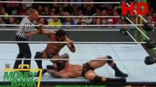 Randy Orton vs Jinder Mahal FULL MATCH HD- wwe money in the bank 2017