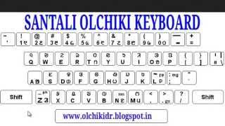 How to type Santali (Ol-CHIKI) in PC or Laptop or Facebook and Internet