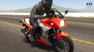 The Crew 2 #31 - Đi mua xe moto cổ Kawasaki GPZ 900 Ninja   ND Gaming