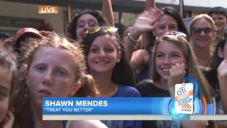 Shawn Mendes – Treat You Better (Live on Today Show 2016)