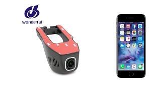 FHD1080P universal wifi hidden car camera- RORO CAM APP