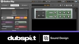Sound Design Tutorial: Guitar Rig Space Echo Effects for Ableton Live Performance