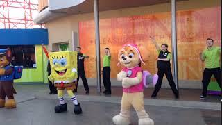 Blackpool pleasure beach character dance