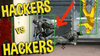 CS:GO - HACKING TEAM VS HACKING TEAM WTF!!! (FUNNY MOMENTS)