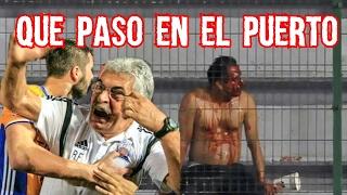 Cronica del Veracruz vs Tigres quién inició la bronca | Pesadilla en el Puerto