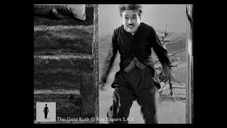 Charlie Chaplin Jumps for Joy - The Gold Rush
