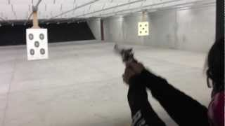 Shooting the Taurus 608 .357 Magnum Revolver - 4 inch ported beast part 2