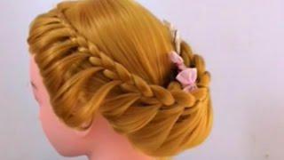 ถักเปียสวยๆ : Cute and Easy Braid [Ep.13] #hair - วิธีถักเปีย I Barbie & Ken Channel