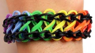 Rainbow Loom Nederlands - Double Infinity Armband    Loom bands, rainbow loom, nederlands, tutorial