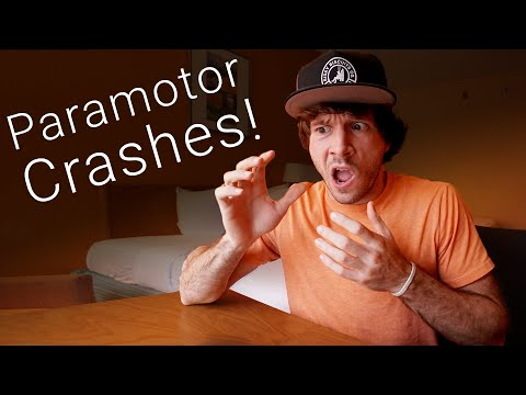 Reacting to paramotor crash videos Pt. 5