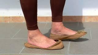 ღღ almot last shoeplay with very well worn flats ღღ