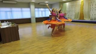 Студия Индийского танца Арины Лялиной - Retro-mix bollywood - Indian dance fest Moscow 2016