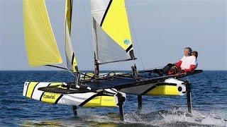 Amateur Sailors Can Now Fly on Water Like America