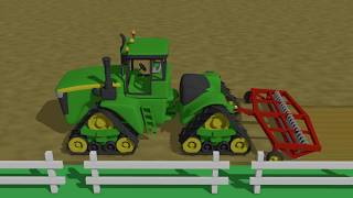 Tractors for Kids - Animations | Video for Children | Bajki Traktory Dla Dzieci - Zbiór PART 4