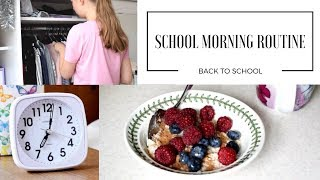 SCHOOL MORNING ROUTINE | Back to School