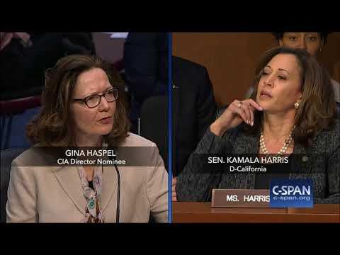 Exchange between Sen. Harris and CIA Director Nominee on torture C SPAN