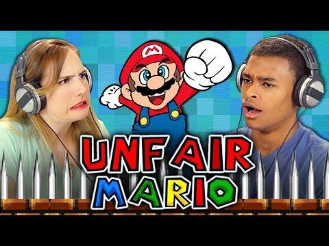 UNFAIR MARIO React Gaming
