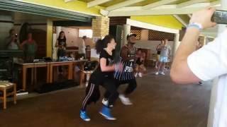 Bojana and Freddy Clan CAS Corfu 2016 reggaeton