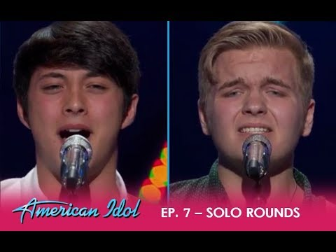Caleb Hutchinson & Laine Hardy: Two Country Boys FIGHT To Be In The Top | American Idol 2018