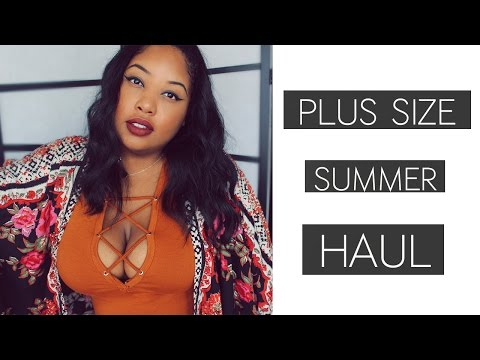 PLUS SIZE Summer 2016 Collective Haul | First Time Shopping at Wet Seal: HIT OR MISS?!