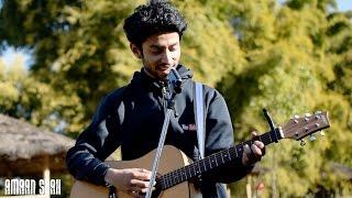 Enna Sona - OK Jaanu   New Heartbeats Style On Guitar   A. R. Rahman Song Cover   Amaan Shah