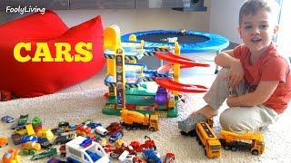3 YEAR OLD VLOGS HIS TOY CAR COLLECTION