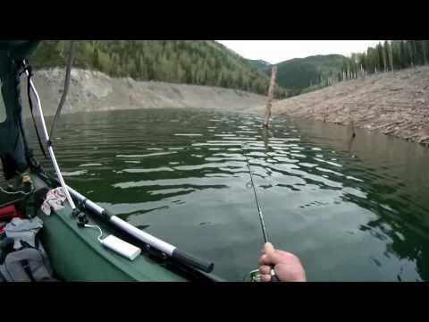 ловля на джиг в отвес с лодки
