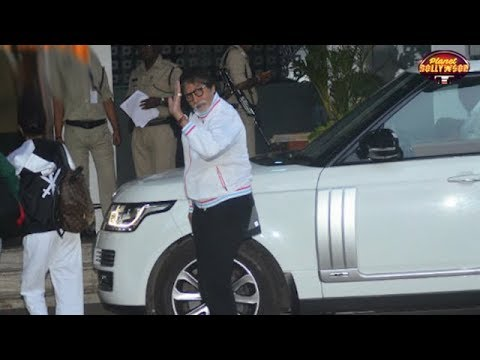 Bachchan Family Leaves For Maldives To Celebrate Big B's 75th Birthday | Bollywood News
