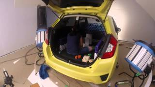 How we created the domino effect inside the Honda Fit