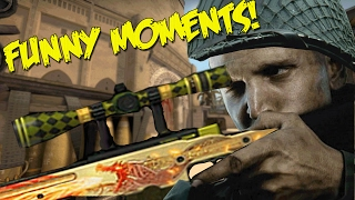 CS:GO FUNNY MOMENTS - SOUVENIR DRAGON LORE HACKS, SNIPER SHOTGUN (FUNNY MOMENTS)