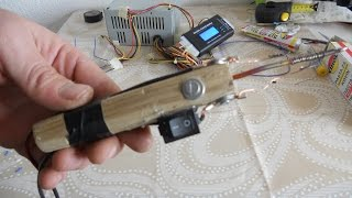 How to make SOLDERING IRON at home EASY !!!!