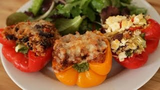 Stuffed Peppers 3 Delicious Ways
