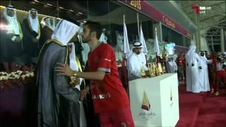 كاس قطر 2015: لخويا يتوج باللقب على حساب الجيش