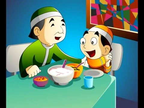 Contoh Animasi Produk VCD  32 Doa Anak sesuai Hadist Shahih & adabnya