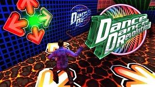 DANCE DANCE REVOLUTION IN DEATH RUN - GMOD